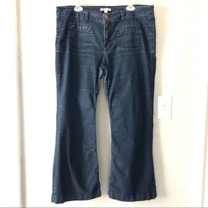 CAbi Dark Wash Farrah Jeans Style 146R Womens 16
